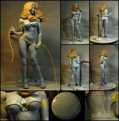 Wonder Woman WIP 2 by mufizal