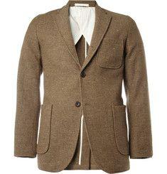 Beams PlusUnstructured Slim-Fit Donegal Tweed Blazer