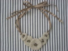 It's All About Creating: Free Crocheted Necklace Tutorial
