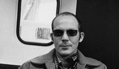 """""""At the top of the mountain, we are all snow leopards."""" — Hunter S. Hunter S Thompson Quotes, Writing Styles, Leopards, Snow Leopard, Journalism, Satire, Mens Sunglasses, Mountain, Author"""