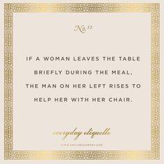 Everyday Etiquette No. 12 | www.EmilyMcCarthy.com
