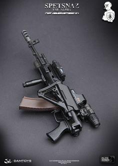 DAMTOYS Spetsnaz FSB Alpha Group - 0023