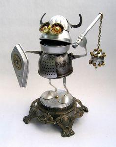 robot recuperation objet 17 Les petits robots de Brian Marshall