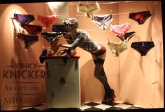 phew, it's tiring hanging out your knickers Sue, pinned by Ton van der Veer