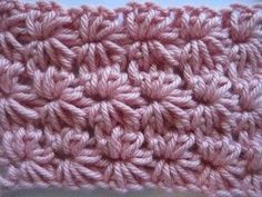 Patroon star stitch...great pictures for right-handed and Left-handed crocheters!
