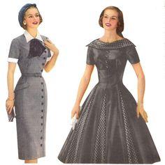 1950s Fashion Dresses