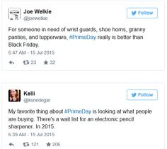 Some Twitter users were not happy with the offerings during Amazon's blowout sale.