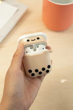 Pearl Boba Tea Airpod Case 🥤 Apple Coque, Cute Ipod Cases, Bubble Milk Tea, Accessoires Iphone, Kawaii Room, Cute Room Decor, Airpod Case, Coque Iphone, Cool Things To Buy