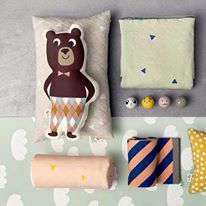 Ferm Living Have you met Mr. Bear and Mr. These cushions (illustrated by Ingela P Arrhenius) are part of the Ferm Living Collection. Check out the new Ferm Living- catalogue,. Nordic Design, Home Design, Design Shop, Interior Design, Niedlicher Panda, Mr Cat, Ideas Habitaciones, Kids Collection, Cat Cushion