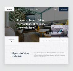 Dribbble - by Masudur Rahman  Website Design Inspiration, Website Design Layout, Web Layout, Layout Design, Minimal Web Design, Modern Web Design, Header Design, Ui Ux Design, Mise En Page Web