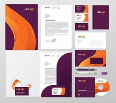 07 linkup branding in Inspiring Examples of Branding & Corporate Identity Design - Graphic Design