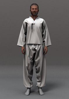 Korean Hanbok - 3D clothing