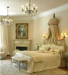 Amazing and Unique Victorian Bedroom Design Ideas. Applying Main Victorian Bedroom Design Ideas in your home can be very fun, especially for women, who dream to live like a queen. Most people prefer th. Romantic Bedroom Design, Romantic Master Bedroom, Master Bedroom Design, Beautiful Bedrooms, Home Bedroom, Romantic Bedrooms, Bedroom Ideas, Royal Bedroom, Romantic Room
