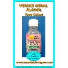 1 Verniz Geral Álcool True Colors - 100ml