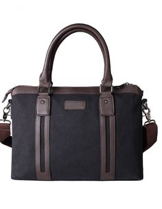 Tokyo Bags: $168 - Canvas   http://tokyobags.co/shop/kariya-textured-canvas-briefcase-classic-black/