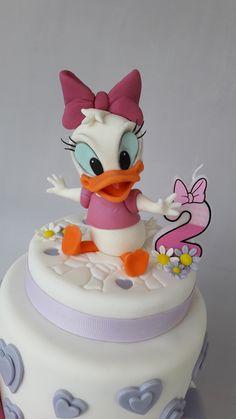 Baby Daisy duck cake topper.