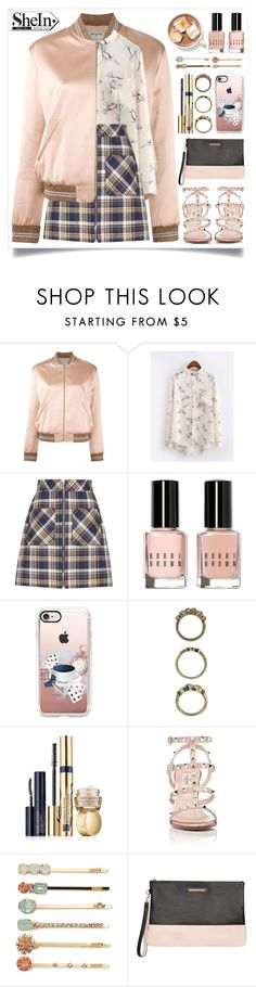 """SheIn"" by itsybitsy62 ❤ liked on Polyvore featuring Yves Saint Laurent, Miu Miu, Bobbi Brown Cosmetics, Casetify, Forever 21, Estée Lauder, Valentino, Vieste Rosa and Dorothy Perkins"