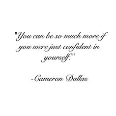 quote, text, and cameron dallas image