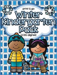 This no prep, print & go packet contains Winter themed alphabet practice, rhyming, syllables, reading comprehension, patterns, numbers 1-20, counting, adding, subtracting, shapes, and more! 81 ready to use, no prep math and literacy printables in ink saving black and white. Aligned to kindergarten Common Core standards-can also be used as a review pack for first grade.
