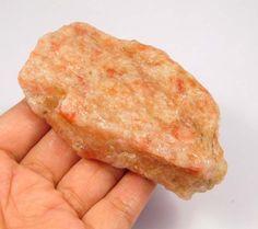 525 Cts. 100% Natural Sunstone Rough Mineral Specimen NG4944 #Handmade