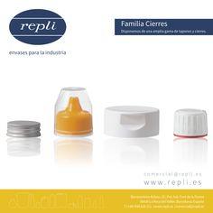 En Repli encontrará la más amplia variedad de cierres y tapones, para asegurar la calidad de sus productos en todo momento. Personal Care, Plugs, Single Wide, Bottles, Products, Personal Hygiene