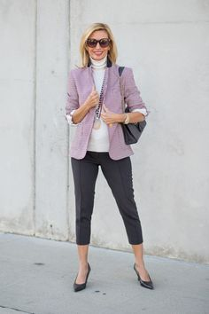 Check out my blog story featuring our Blaire Houndstooth Blazer and a few of our necklaces all available in our shop www.jacketsociety.com