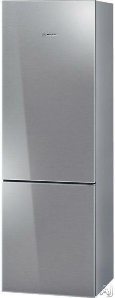 ($2,500) Bosch B10CB80NVS 10.0 cu. ft. Counter-Depth Bottom-Freezer Refrigerator with 2 Spill Proof Glass Shelves, 3 Door Bins, 1 Crisper Drawer and 3 Removable Freezer Drawers: Stainless Steel