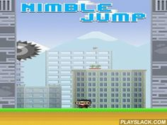 Nimble Jump  Android Game - playslack.com , govern your conqueror high and high. Jump and cling to the partitions of a constricting mine. Jump from one partition to the other evading  different hazards. Show your reaction speed and the speed of your fingers in this enjoyable game for Android. Your work is to govern the conqueror as high as accomplishable. But that's not as uncomplicated as it seems, because partition that you need to jump along have a lot of sayings, spikes, and other…