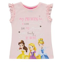 Disney Prinsessa lyhythihainen paita