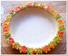 colored pie crust (did this at thanksgiving and it was so beautiful i didnt want…