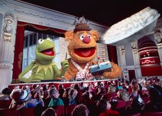 Muppetvision 3D, one of my all-time favourite Disney attractions. Opened May 16, 1991.
