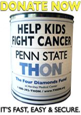Help fight pediatric cancer! Donate to THON