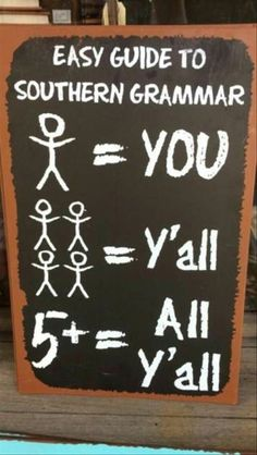 Funny pictures about Southern Grammar Oh, and cool pics about Southern Grammar Also, Southern Grammar 101 photos. Redneck Humor, Redneck Quotes, Funny Signs, Funny Memes, Funny Quotes, Funniest Jokes, Car Memes, Qoutes, Really Funny