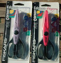 2 Fiskars Corner Edgers GREAT for Crafting Item #'s 9161 and 9164 #Fiskars