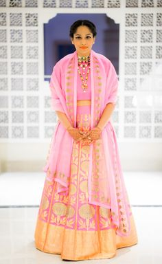 Masaba Gupta in Sanjay Garg outfit for her wedding
