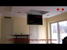 Future Automation - CH - Marine TV Ceiling Hinge - YouTube