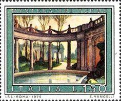 ** 0,10€ - Us. 0,10€ Poster Vintage, Fauna, Stamp Collecting, Travel Posters, Postage Stamps, Landscape, World, Illustration, Pictures