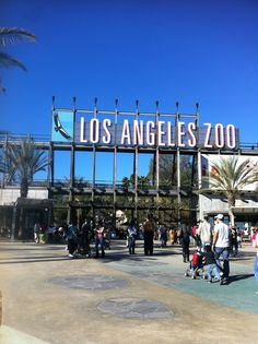 Visit the Los Angeles Zoo!