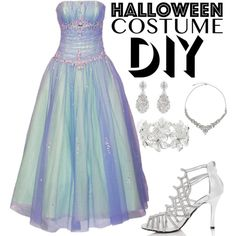 DIY Halloween Costume - Fairy Godmother by lynnbowersx on Polyvore featuring mode, M&Co and John Lewis