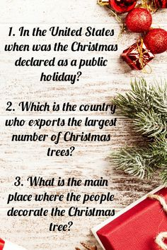 Christmas is a worldwide celebrated festival most specifically by the Christians. We provide some information about the festival in the form of trivia questions to make the learning easy and interesting for the kids. #triviaquestions #funtrivia #easytrivia #christmastrivia #christmastriviaquiz #christmasquiz. Christmas Trivia For Kids, Christmas Trivia Quiz, Christmas Trivia Questions, Trivia Questions For Kids, Christmas Shows, Christmas Truce, Christmas Cards, Eve Show, Natural Christmas Tree