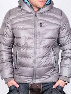 Мъжки Зимни Якета - Светло сиво зимно яке Sport Team - цена 89.00 лв.