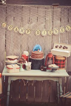 Jami's on Sweet Street: Camping Birthday Party