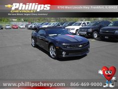 2012 Chevrolet Camaro SS 45th Anniversary Edition . Priced and ready to go for summer at $44,060    http://www.phillipschevy.com/2012-Chevrolet-Camaro-2SS-Chicago-IL/vd/9816064