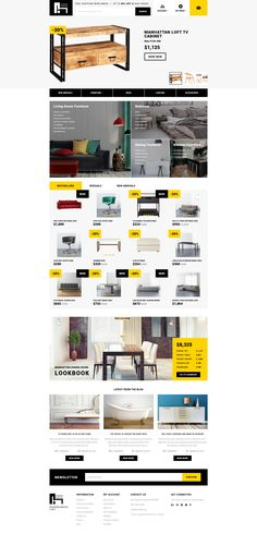 OpenCart Theme , Modern Furniture - Interior