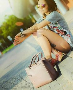 Skórzana torebka kuferek beż cappucino BURANO ELEGANTE Blog, Blogging