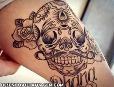 Desenhos De Tatuagem Tatuagens Caveira Mexicana