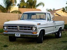 1971 Ford F250 4x2 - 1971 f250