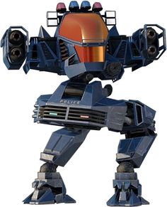 Tac X1 Alpha mecha in the Future Cop: LAPD video game. From http://www.writeups.org/tac-x1-alpha-future-cop-video-game/