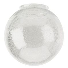 Westinghouse 6 in. Handblown Clear Seeded Globe-8156000 - The Home Depot