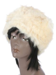 Hat And Cap Russian Style Soft Fur One Size